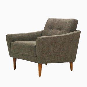 Warm Gray Lounge Chair, 1950s