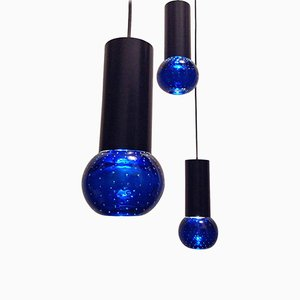 Suspended Lamps by Gino Sarfatti for Arteluce, 1950s, Set of 3