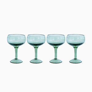Green Cocktail Glasses from House Doctor, Set of 4