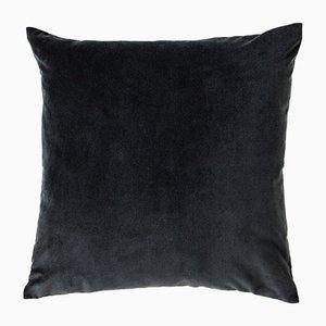 Large Grey Velvet Cushion from Ceraudo