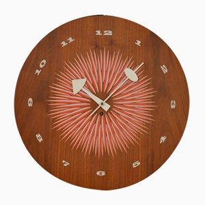 Horloge Murale Mid-Century par George Nelson pour Howard Miller