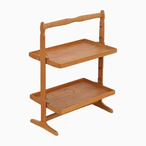Vintage Tray Shelf by Jacob Müller for Wohnhilfe