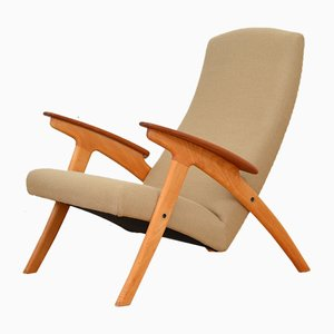 Vintage Armchair in Solid Beech