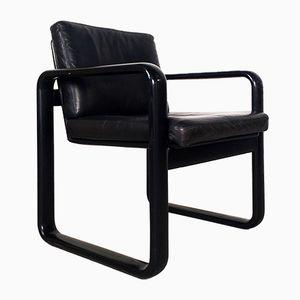 Vintage Hombre Armlehnstuhl von Burkhard Vogtherr für Rosenthal Studio Line
