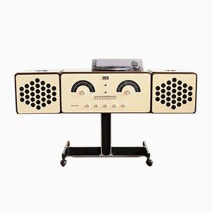 RR 126 Plattenspieler mit Radio von Pier Giacomo & Achille Castiglioni für Brionvega, 1960er