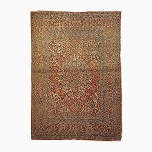 Persischer Handgeknüpfter Vintage Tabriz Teppich, 1920er