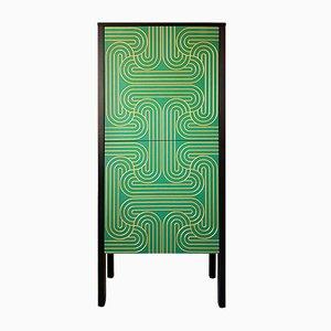 Armadio Loop color smeraldo di Nell Beale per Coucou Manou