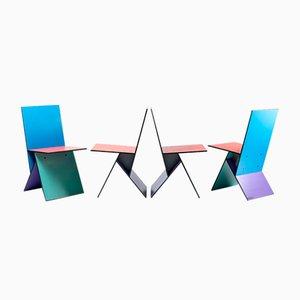 Vilbert Stühle von Verner Panton für Ikea, 1990er, 4er Set