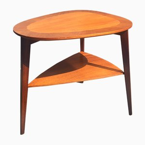 Table d'Appoint Mid-Century par Holger Georg Jensen pour Kubus, Danemark, 1960s