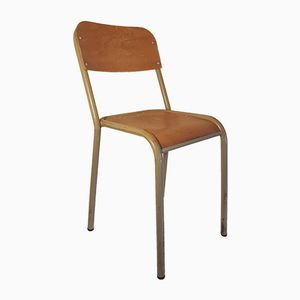 Vintage French School Chair, 1960s