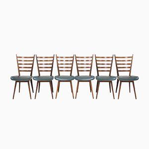 Mid-Century Stühle von Cees Braakman für Pastoe, 6er Set