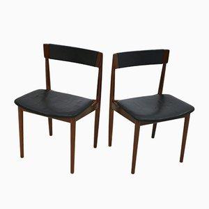 Vintage Modell 39 Stühle von Henry Rosengren Hansen für Brande Møbelindustri, 2er Set