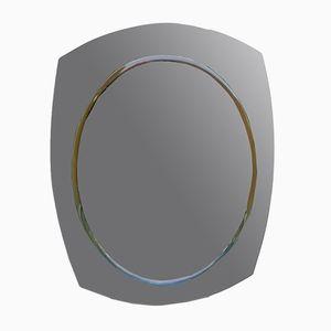 Grüner Spiegel von Fontana Arte, 1973