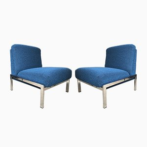 Vintage Samouraï Chairs by Joseph-André Motte, Set of 2