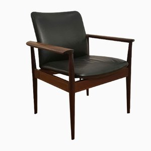 Diplomat Armchair in Rosewood by Finn Juhl for France & Søn, 1963