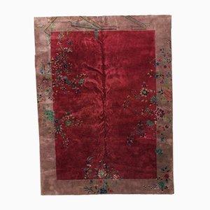 Chinesischer Handgemachter Art Deco Teppich, 1920er
