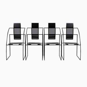 Quinta Stühle von Mario Botta für Alias, 1986, 4er Set