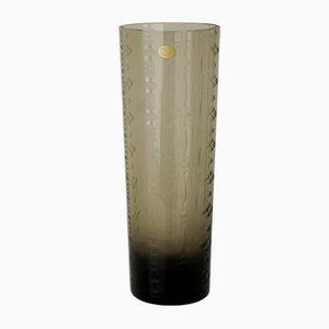 Vintage Rauchglas Vase von Rosenthal