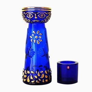 Skandinavische Vintage Vase & Kerzenhalter von Marimekko für Iittala