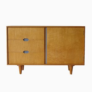 Mid-Century Beech & Maple Sideboard