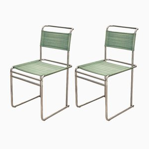 B5 Chairs by Marcel Breuer for Tecta, 1970s, Set of 2