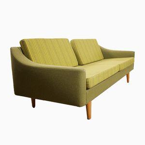 Grünes Mid-Century Sofa von Dux