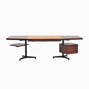 Mid-Century Italian Desk by Osvaldo Borsani for Tecno