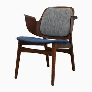 Model 107 Armchair by Hans Olsen for Brahmin Mobler, 1957