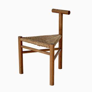 Moderner Dreibein Stuhl von Wim Den Boon, 1950er