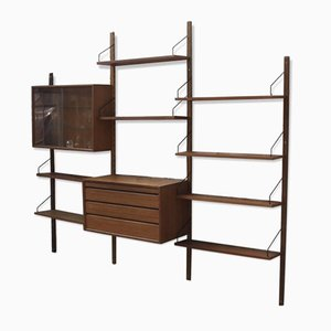 Large Danish Wall Unit by Poul Cadovius, 1950s