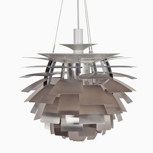 Lámpara Artichoke danesa de Poul Henningsen para Louis Poulsen, años 60