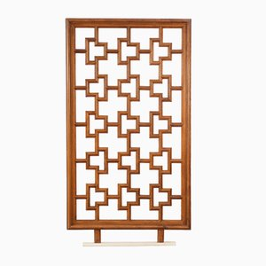 French Wooden Screen, 1960s
