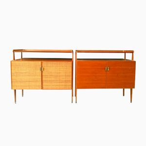Italian Credenzas, 1960s, Set of 2