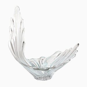 Mid-Century Sculptural Crystal Centerpiece