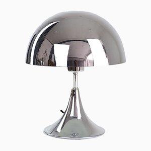 Mid-Century Chrom Mushroom Lampe
