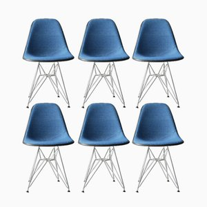 DSR Chairs by Charles & Ray Eames for Herman Miller, 1975, Set of 6