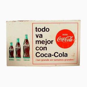 Panneau Coca Cola, Espagne, 1960s