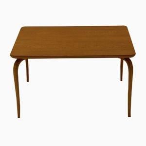 Table Basse Annika Vintage en Chêne & Hêtre par Bruno Mathsson pour Karl Mathsson