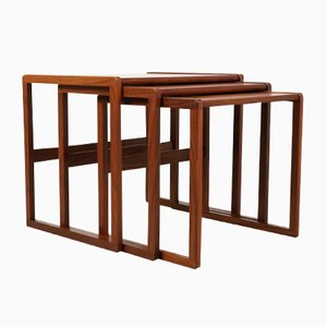 Mid-Century Teak Nesting Tables from G-Plan, Set of 3