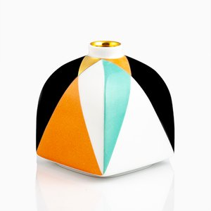 Archiv Cube Shape Vase von Pamono x KPM, 2018