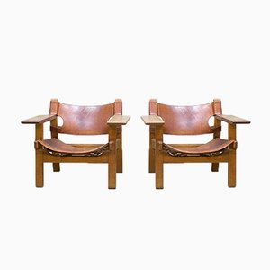 Mid-Century Spanish Armchair by Børge Mogensen for Fredericia, 1958