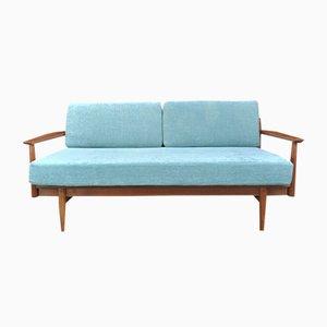 Danish Three-Seater Teak Sofa, 1960s