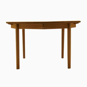Mid-Century Oak Dining Table by Kurt Østerig for KP Jørgensen