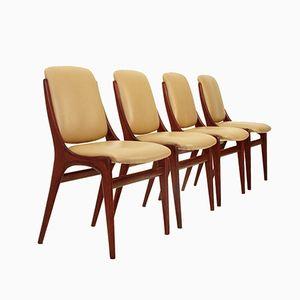 Italian Mid-Century Dining Chairs, 1960s, Set of 4