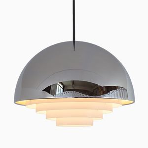 Vintage Milieu Lampe von Jo Hammerborg für Fog & Mørup