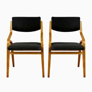 Czech Bent Plywood Chairs from Holesov, 1970s, Set of 2