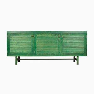 Finnisches Grünes Eichenholz Sideboard von Asko, 1965