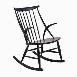 Rocking Chair IW3 par Illum Wikkelsø pour Eilersen, 1958