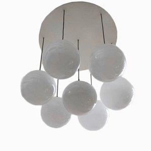 Lampada da soffitto con sfere di Raak, anni '70