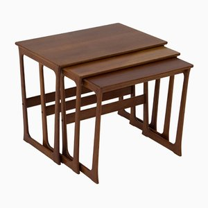 Tables Gigognes Mid-Century Moderne par Johannes Andersen, Danemark, 1960s